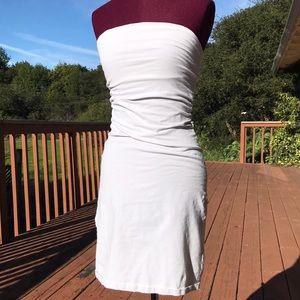 Sleeveless tube dress